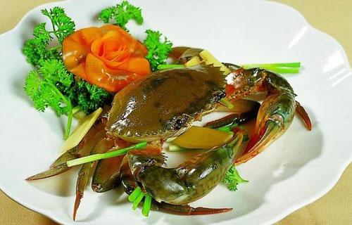 锯缘青蟹什么部位不能吃吃了会怎么样?